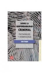 Sobre la responsabilidad criminal.