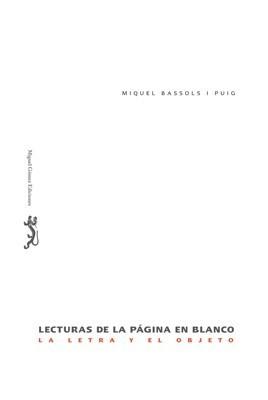 Lecturas de la página en blanco