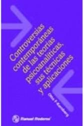 Controversias contemporaneas de las teorías psicoanalíticas