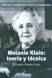 Melanie Klein: teoria y tecnica.
