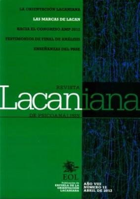 REVISTA LACANIANA 12