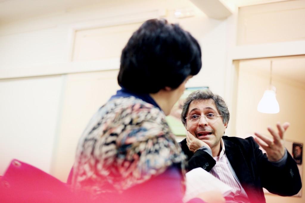 Entrevista a Domenico Cosenza, psicoanalista. Autora de las fotografías: Sònia Arias.