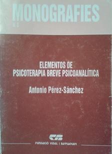 elementos psicoterapia psicoanalitica