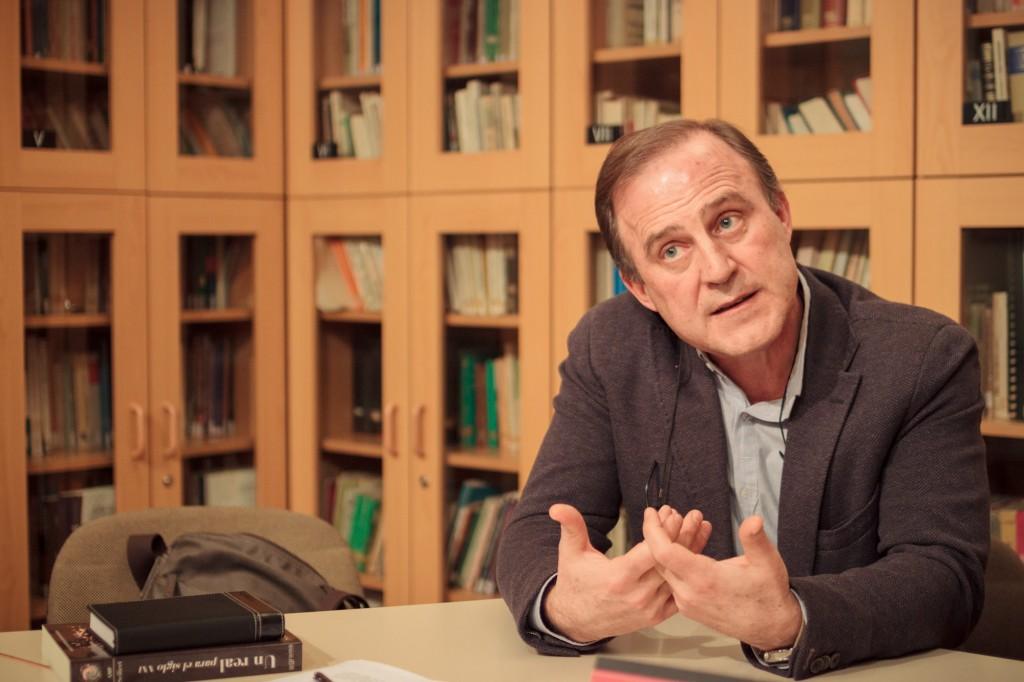 Santiago Castellanos, psicoanalista. Autor de las fotografías: Albert Roig.